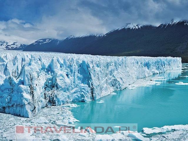Lody w kolorze błękitu - Patagonia