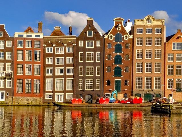 Amsterdam - cudowna lekkość bytu